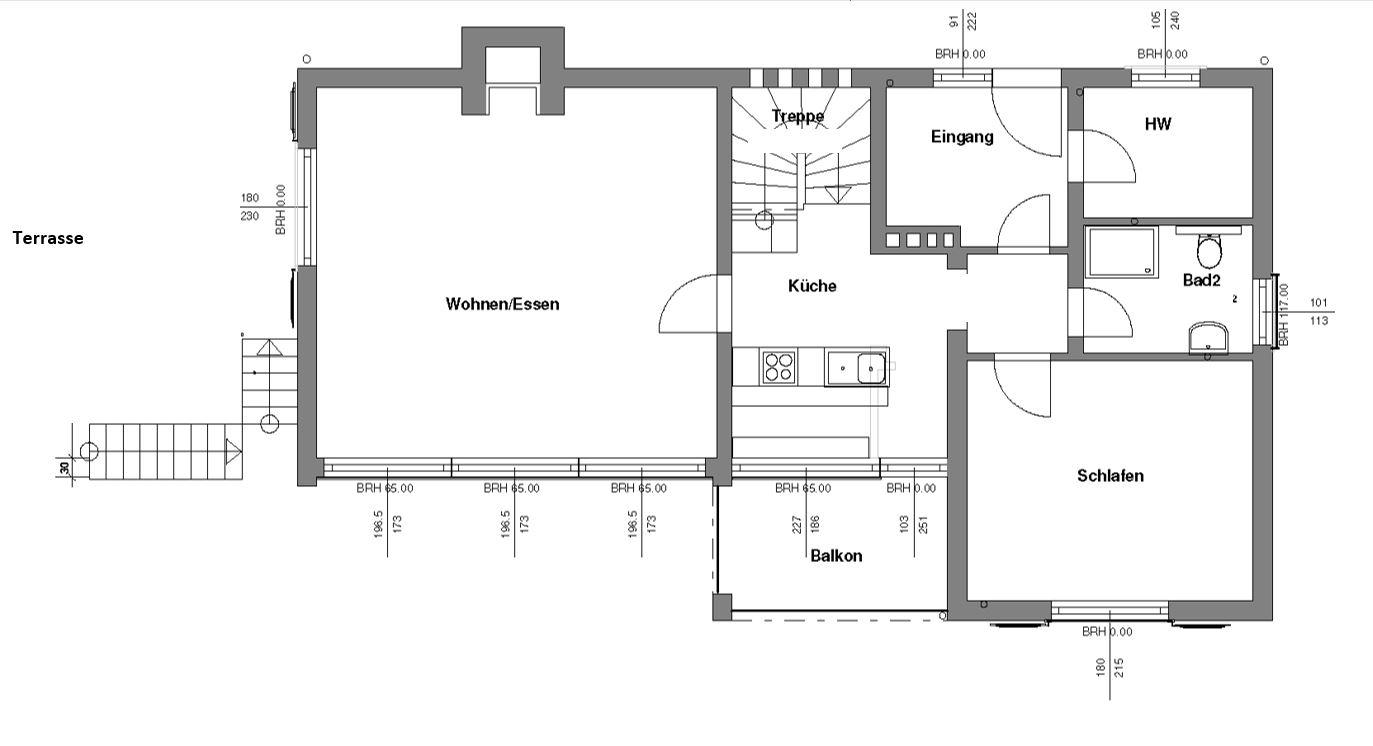 Grundriss von Ferienhaus Annenberg (EG)